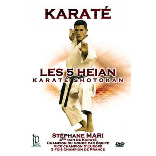 DVD : Karate Shotokan. Les 5 Heian