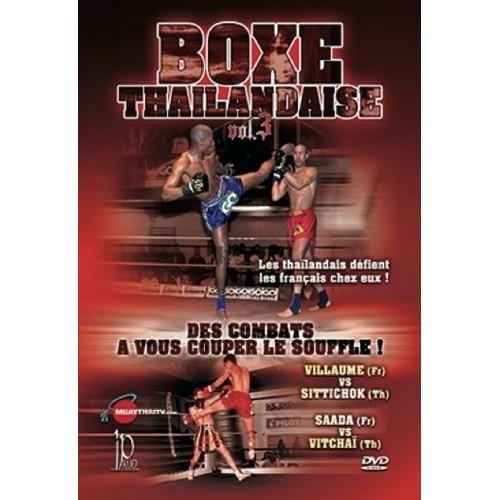 DVD : Boxe Thailandaise 3. Combats