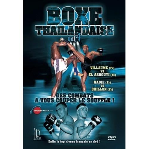 DVD : Boxe Thailandaise 4. Combats
