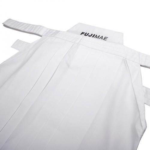 Hakama Poly-Rayon. Blanco