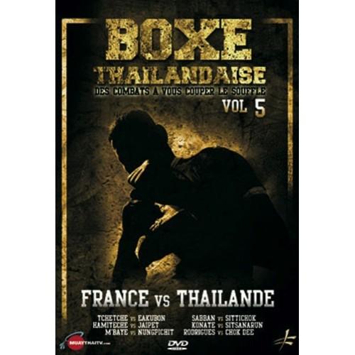 DVD : Boxe Thailandaise 5. Combats