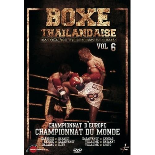 DVD : Boxe Thailandaise 6. Combats