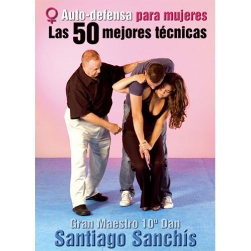 LIBRO : Autodefensa para mujeres. 50 mejores tecnicas