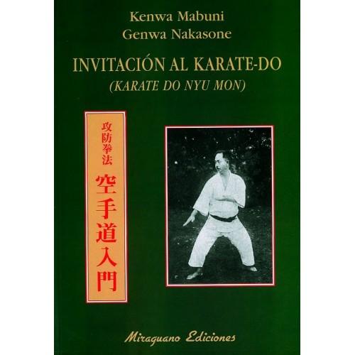LIBRO : Invitacion al Karate Do