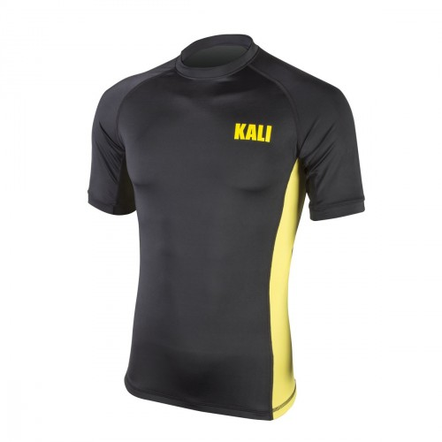 Rashguard Kali. Black-Yellow.