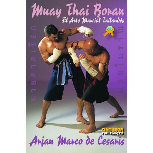 LIBRO : Muay Thai Boran. El arte marcial tailandes