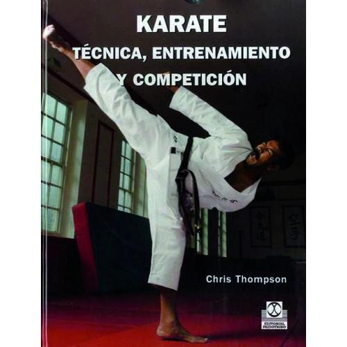 LIBRO : Karate. Tecnica, entrenamiento y competicion