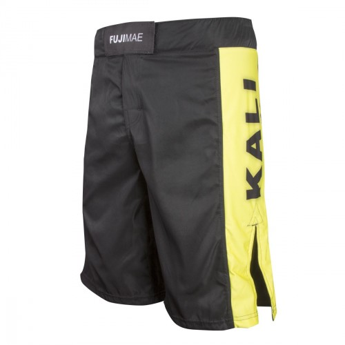 Kali Shorts. Black/Yellow.