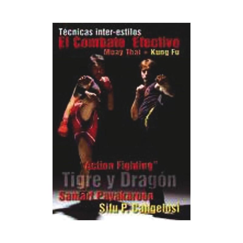 LIBRO : Combate efectivo. Muay Thai + Kung Fu
