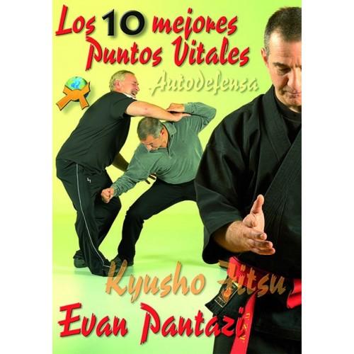 LIBRO : Kyusho Jitsu. 10 mejores puntos vitales autodefensa