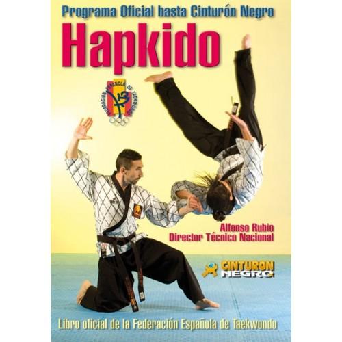 LIBRO : Hapkido. Programa oficial hasta cinturon negro