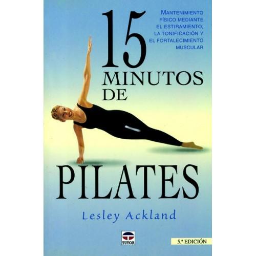 LIBRO : 15 minutos de pilates