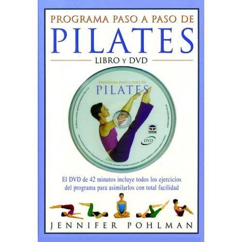 LIBRO : Programa paso a paso de Pilates +DVD