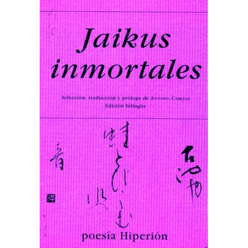 LIBRO : Jaikus inmortales