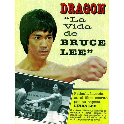 LIBRO : Dragon. La vida de Bruce Lee