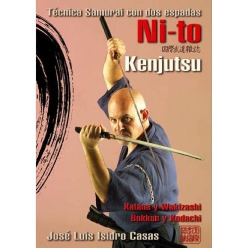 LIBRO : Ni-to Kenjutsu. Tecnica Samurai con dos espadas