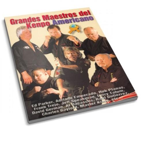 LIBRO : Grandes maestros del Kenpo Americano