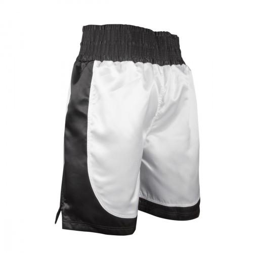 Short Boxeo. Blanco/Negro