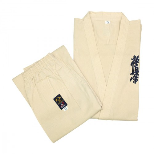 Kimono Kyokushinkai. Competición. Algodón Crudo.