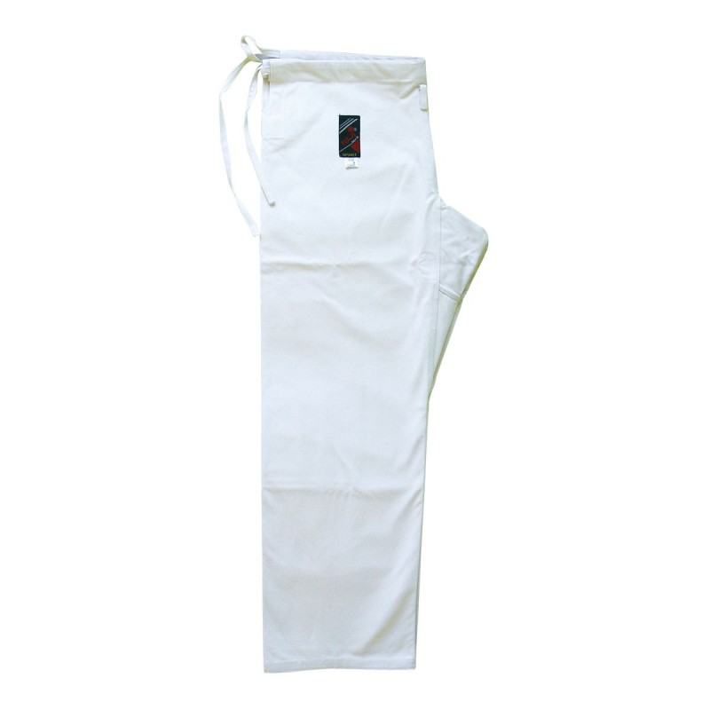 White Karate Trousers Cotton. Training