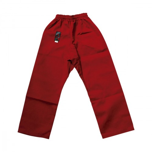Red Karate Trouser Cotton