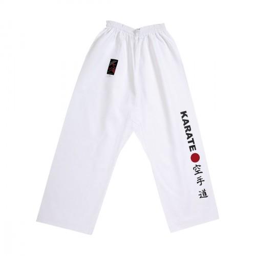 Pantalon Karate Japan. Blanco.