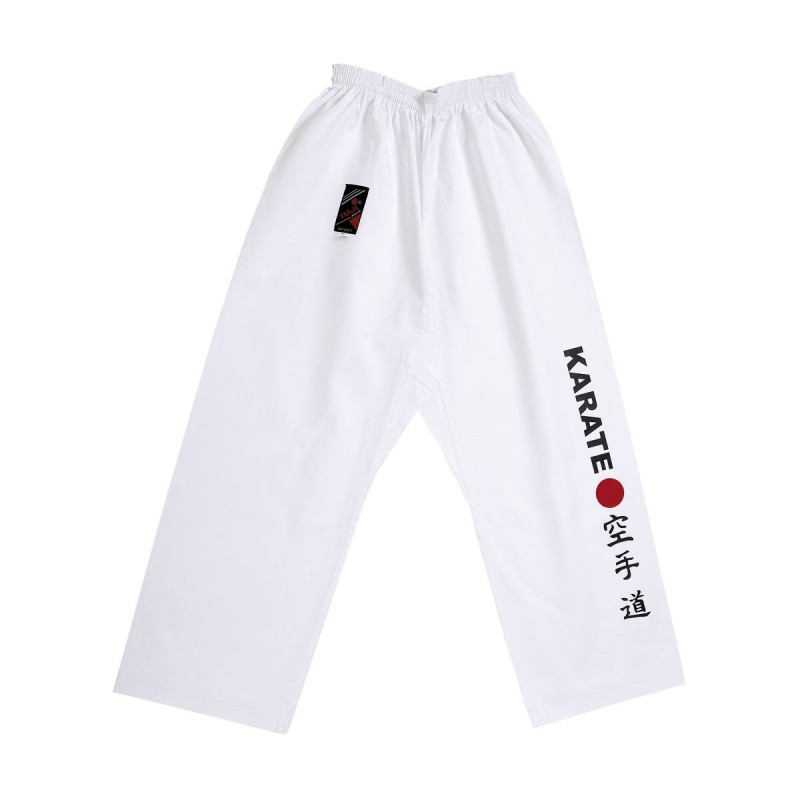 Pantalon Karate Japan. Blanco.