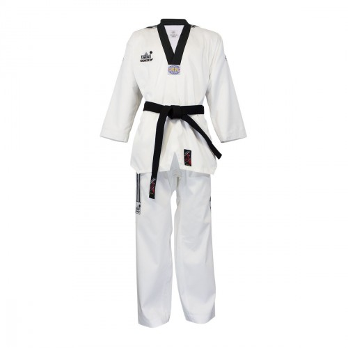 Taekwondo Uniform Black Neck