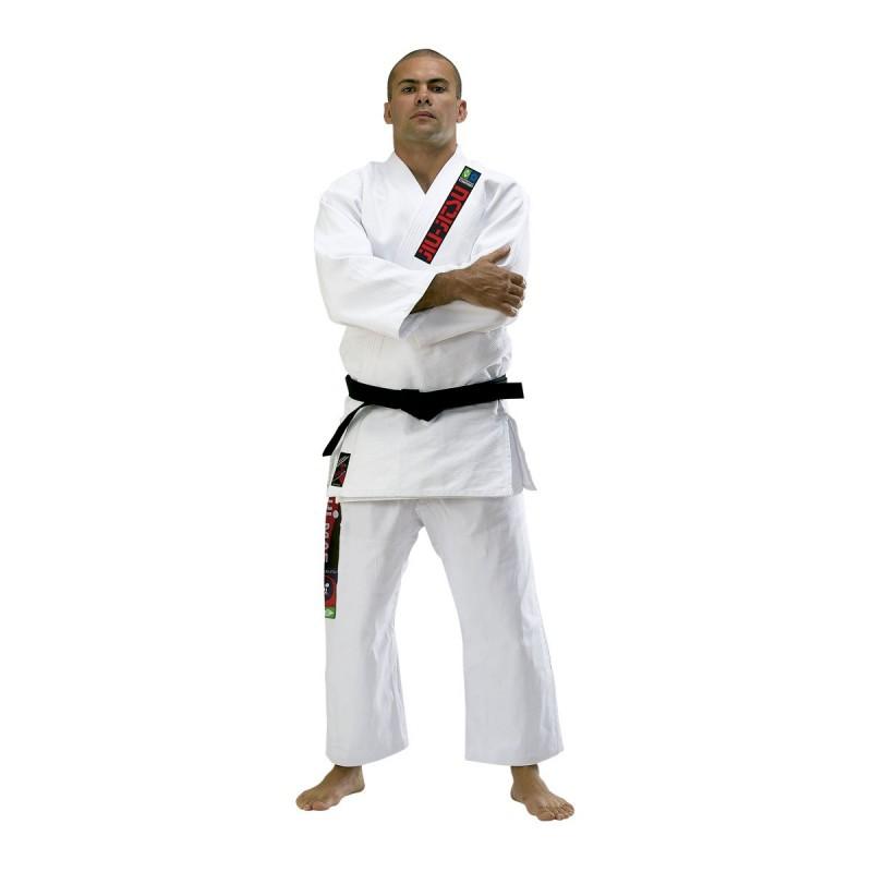 Traje Brazilian Jiu Jitsu. Blanco.