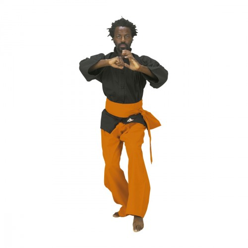 Kung Fu Trousers Orange.