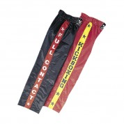 Kickboxing Trousers. Red/Yellow.