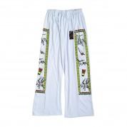 Capoeira Trousers. White/design