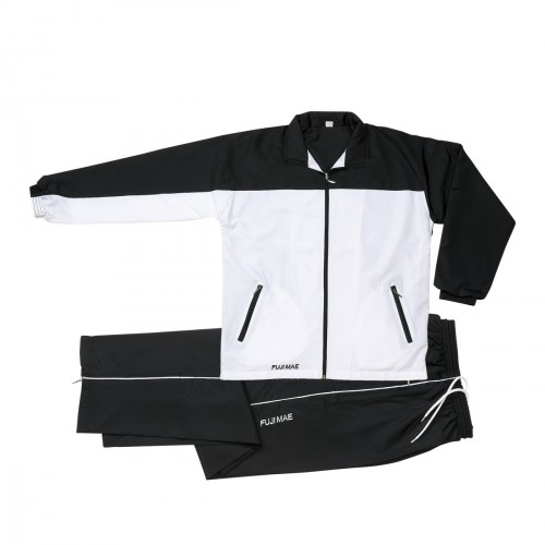 Tracksuit. Black/White.