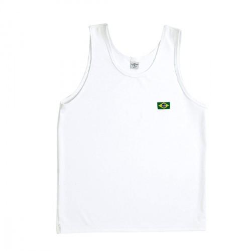 T-shirt Capoeira. Blanc. Polyester