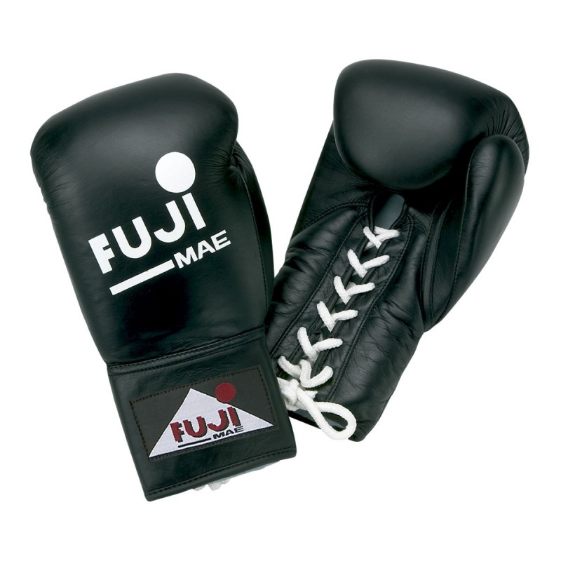 """Boxing gloves With laces. """"Pro"""". Leather. Black."""