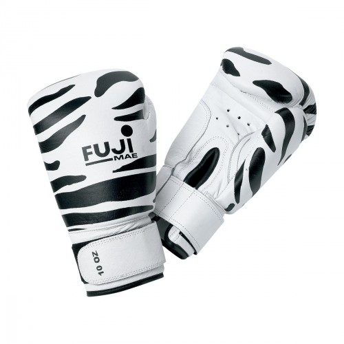 Guante Boxeo.Piel. Zebra.
