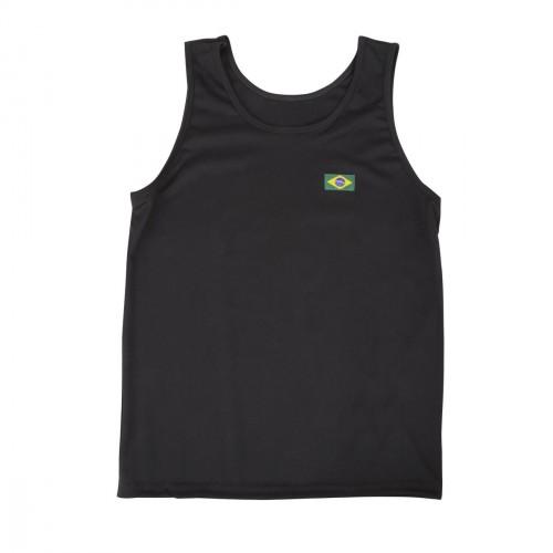 T-shirt Capoeira. Noir. Polyester