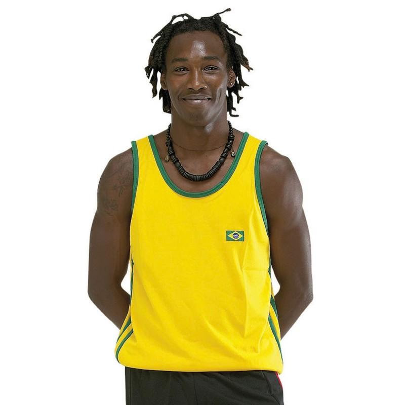 Tee-shirt Capoeira. Jaune