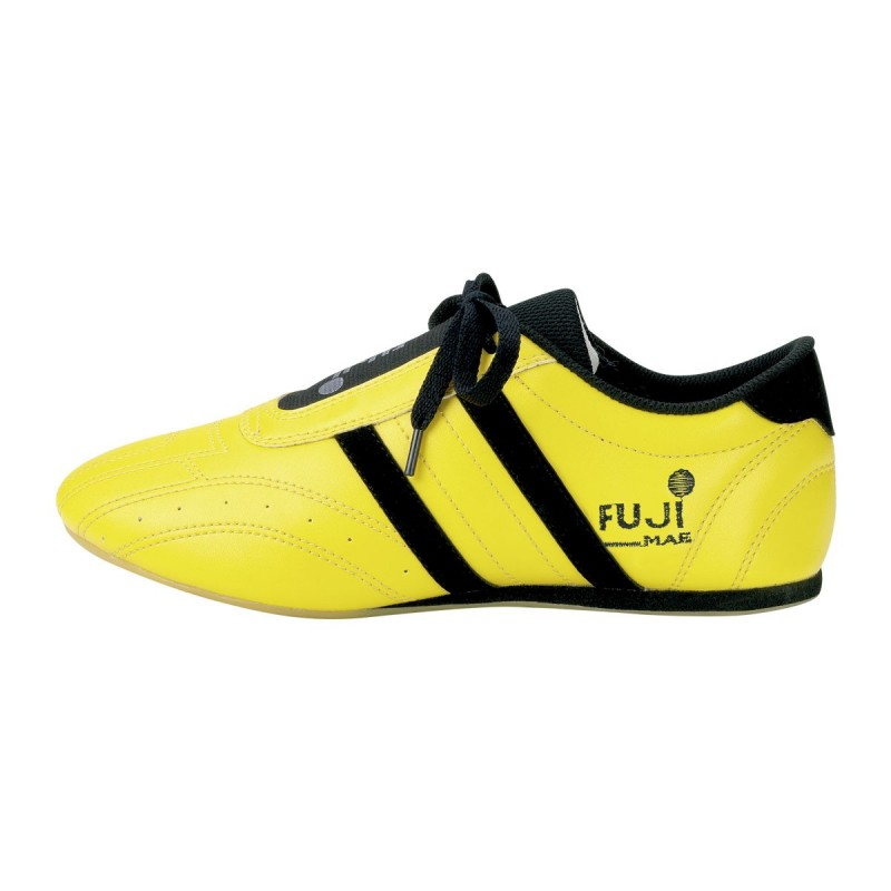 Shoes Star-Colour. Yellow with black.