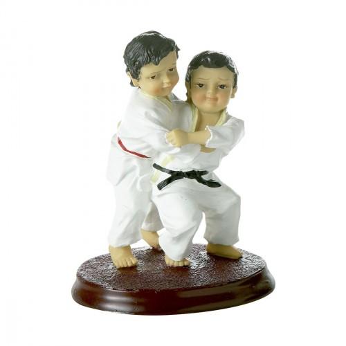 Figura Judo. Ukigoshi