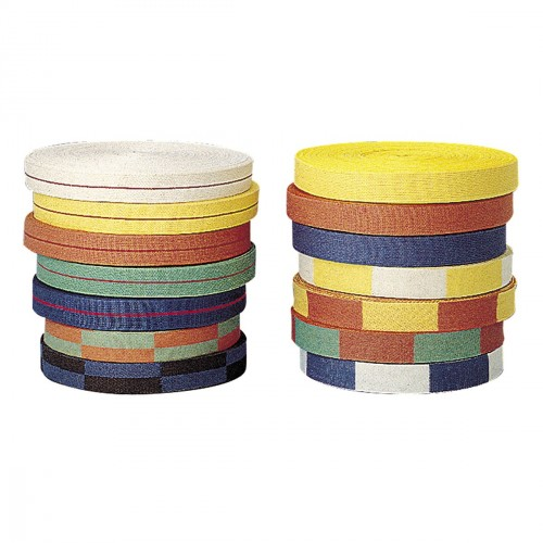 Karate Belt. Roll. 50 m. All colors.