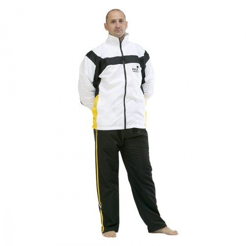 Tracksuit. White/Black