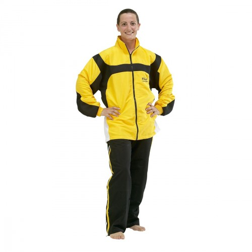 Tracksuit. Yellow/Black