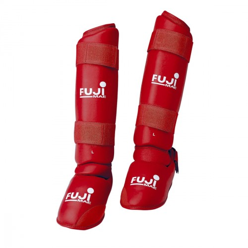 Shin & Instep Guard. Removable. Karate
