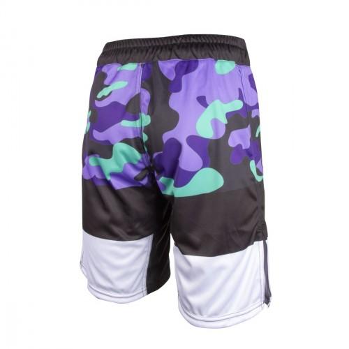 MMA Short. ProWear. Army. Violet/Green