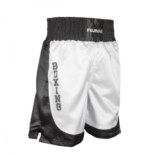 Boxing Short. White/Black
