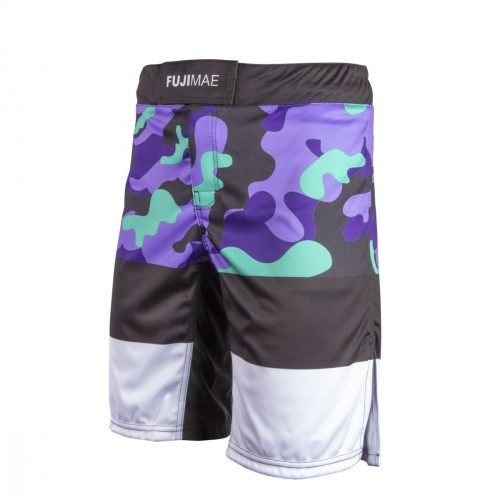 MMA Short. ProWear. Army. Violet/Green