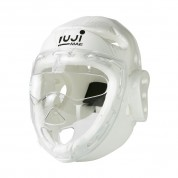 Casco máscara transparente. Dipped Foam