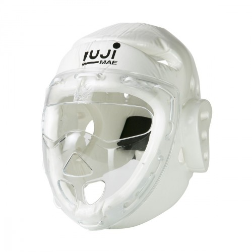 Integral head guard with mask. Dipped Foam