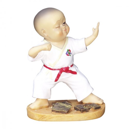 Figure Karate. 14 cm. Breaking